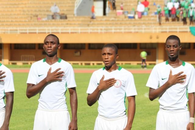 U17 AFCON: Olusegun inspired Eaglets book final place