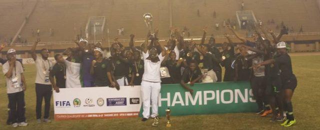 U17AFCON: Golden Eaglets draw hosts Tanzania