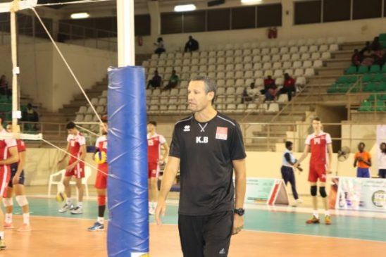 Volleyball: Berma satisfied with 3rd place at U21 AFCON