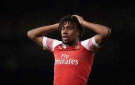 PL: Arsenal reject Everton's 30m bid for Alex Iwobi