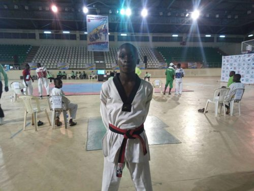 Taekwondo: It is not by height says KAC gold medallist, Agada