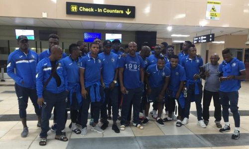 CAFCC: Enyimba duo Afelokhai, Oladuntoye return for Raja