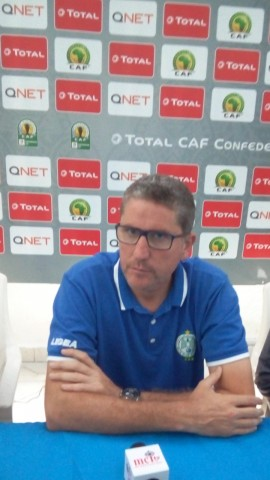 CAFCC: Juan Garrido calls on players to react against Enyimba