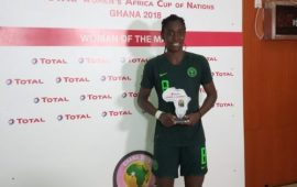 Oshoala, three others nominated for CAF awards.