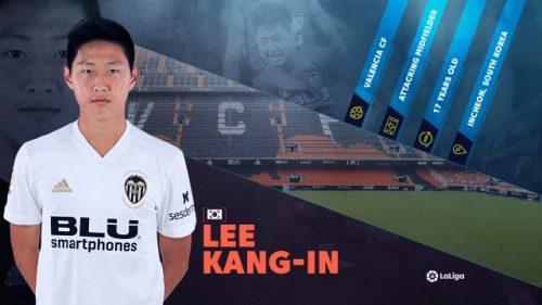 Valencia's Korean starlet LEE KANG-IN set for senior breakout