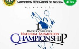 Ist Rivers Gov's National Badminton Championship begins