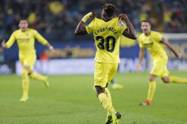 LaLiga's Nigerian rising star Samuel Chukwueze keeping Villarreal spirits high