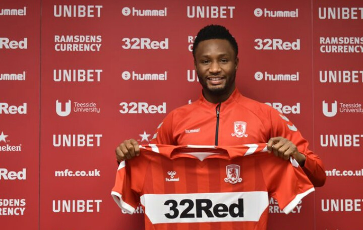 Middlesbrough confirm transfer of Super Eagles captain Mikel