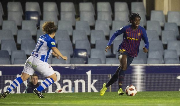 Super Falcons: Oshoala on the double in Barcelona defeat