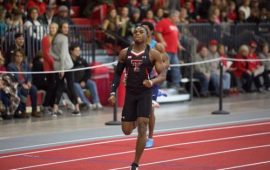 Oduduru runs a personal best in Texas Tech