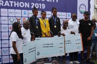 Lagos Marathon: First female, Dinke happy with Ethiopia's dominance
