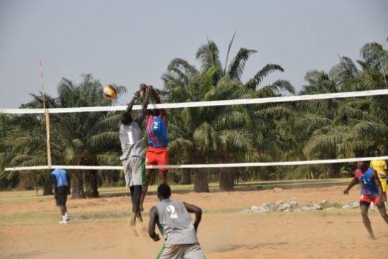 Team Nigeria in Ghana for CAVB U21 Beach Cup Qualifiers