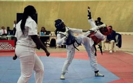 Nigeria Taekwondo Int'l Open: Team Nigeria light up Day one