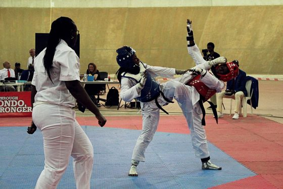 Nigeria Taekwondo Int'l Open: Team Nigeria light up Day one