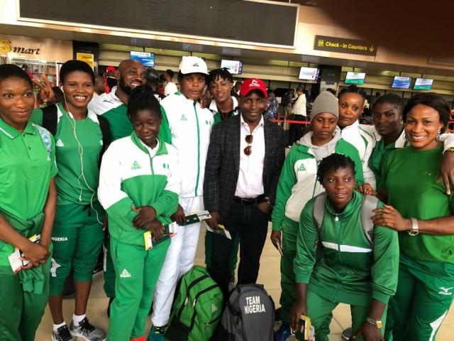 Nigeria team arrive Tunisia For 2019 African Wrestling C'Ships