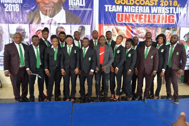 Nigeria Wrestling Federation announce Championships Team