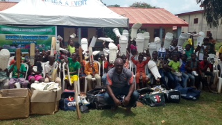 Community Sport donates cricket equipment in Edo State