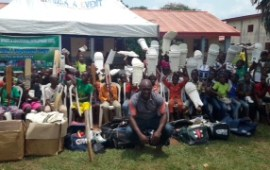 Community Sport donates cricket equipment in Edo State