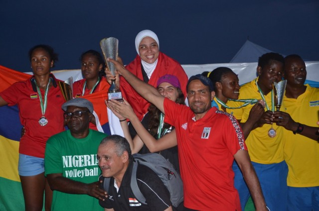 Morocco and Egypt win Africa Beach Volleyball Cup