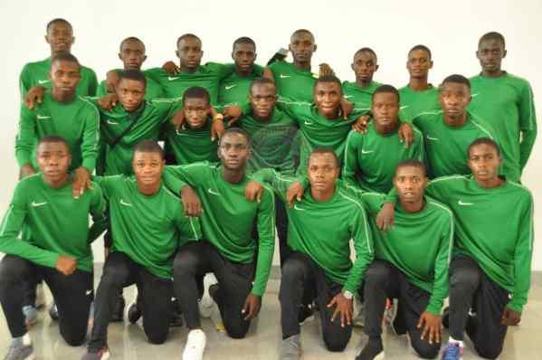 U17AFCON: Nigeria's Golden Eaglets depart for Tanzania