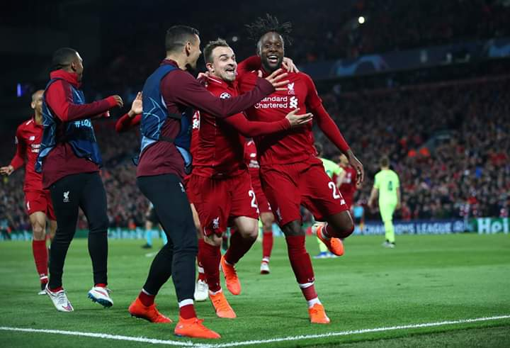 UCL Semi-final: Liverpool stun Barcelona to reach final
