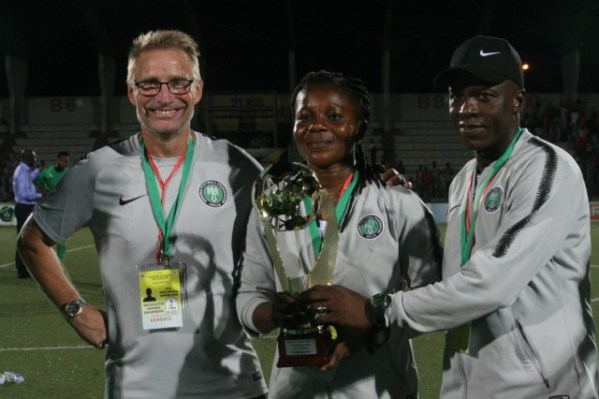 Super Falcons clinch 2019 WAFU B Championship title