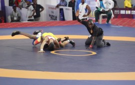 Wrestling Federation tutors referees, coaches on new rules