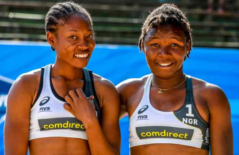 Team Nigeria record defeat in World Beach Volleyball opener