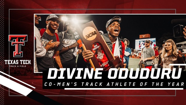 USTFCCCA honour Oduduru as 2019 Co-Men's Track Athlete