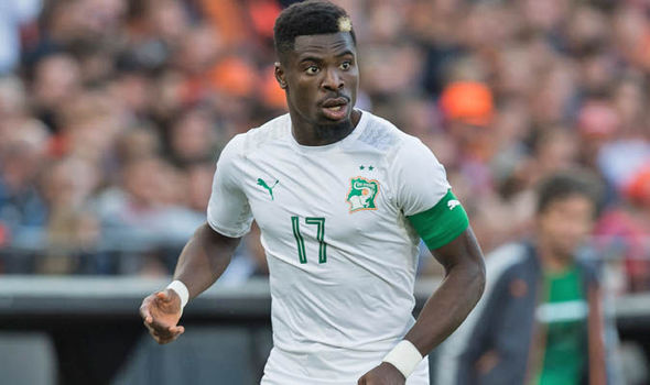Serge Aurier a huge doubt for the remainder of AFCON