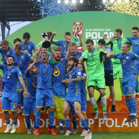 FIFAU20WC: Ukraine beat Korea to win World U20 title