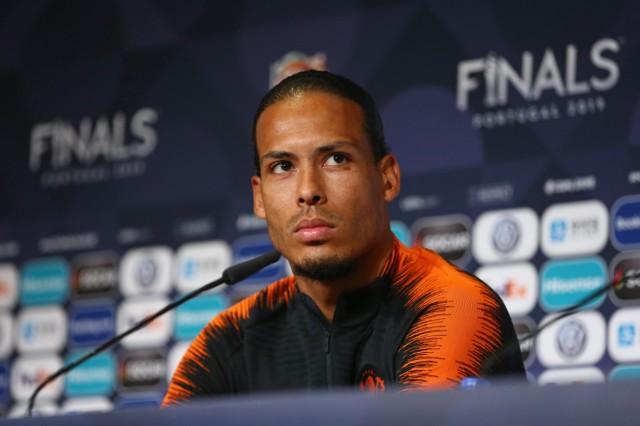 Virgil van Dijk focused on the Nations League