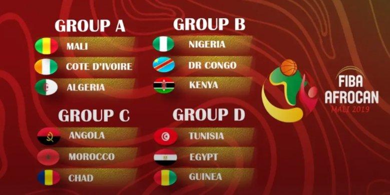 FIBA AfroCan: Nigeria drawn against Kenya and DR Congo