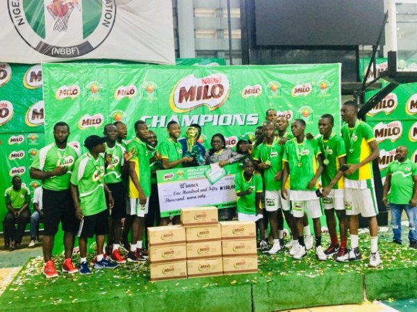 Father O'Connell College retain Nestle Milo Basketball title