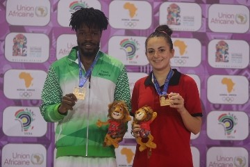 African Games: Olajide Omotayo wins table tennis Gold