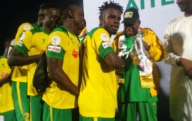 CAFCL: Pillars land in Ghana for Kotoko clash