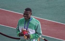 AG: Nigeria's Raymond Ekevwo is Africa's fastest man