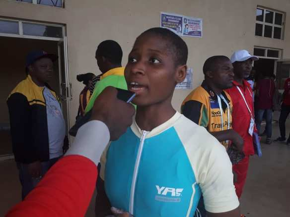 NYG: Maria Friday sweeps weightlifting Gold medals