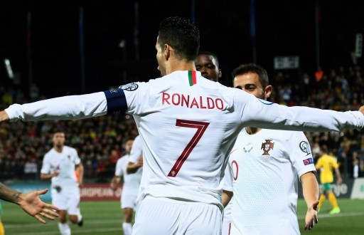 Euro2020: Ronaldo scores four, close in on Daeli's world record