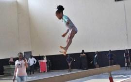 NYG: Munachim Obiefuna with 4 gold medals in Gymnastics