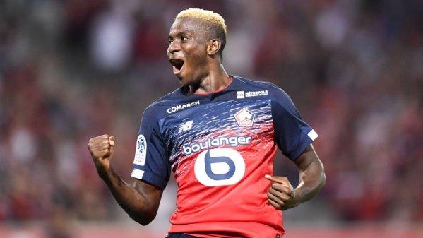 EiE: Osimhen nets goal number six in France