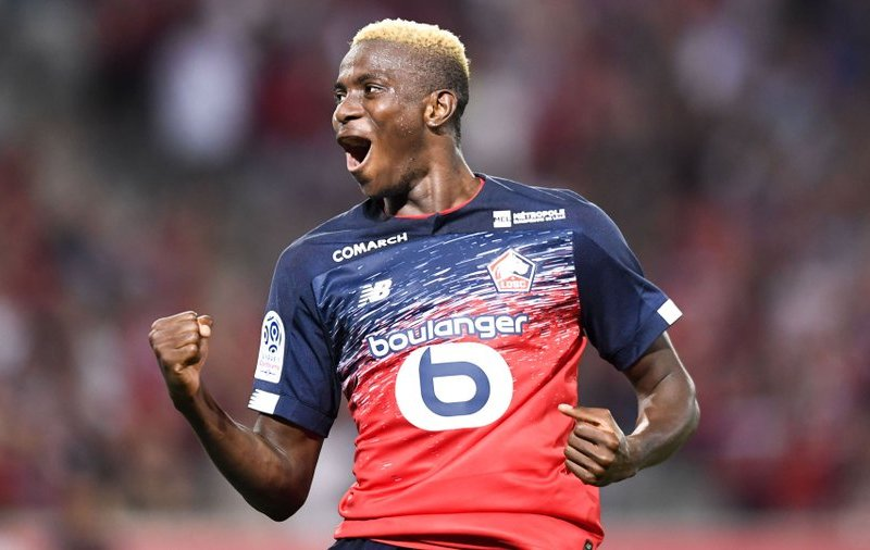 EiE: Osimhen nets goal number six in France