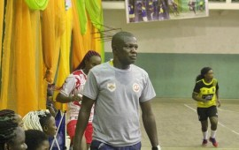 Handball League: Coach Aaron Okojie is on top of the world