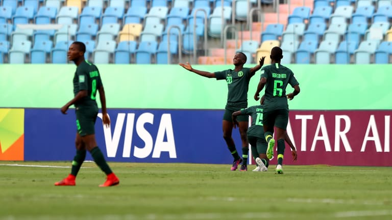 U17WC: Ibrahim Sai'd hattrick sends Eaglets to next round