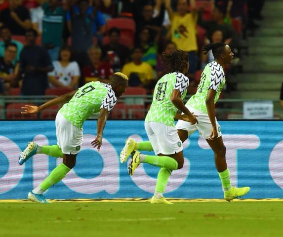 Nigeria stay third in Africa on FIFA/Coca-Cola World ranking