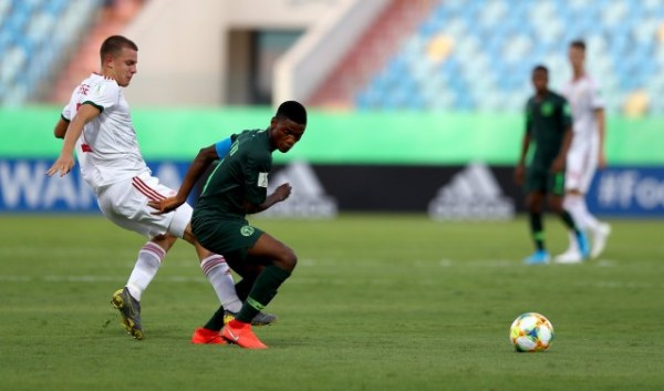 U17WC: Tijani brace leads Nigeria to win over Hungary