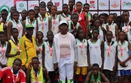 Falilat Ogunkoya mentors over 100 athletes in Ogun state