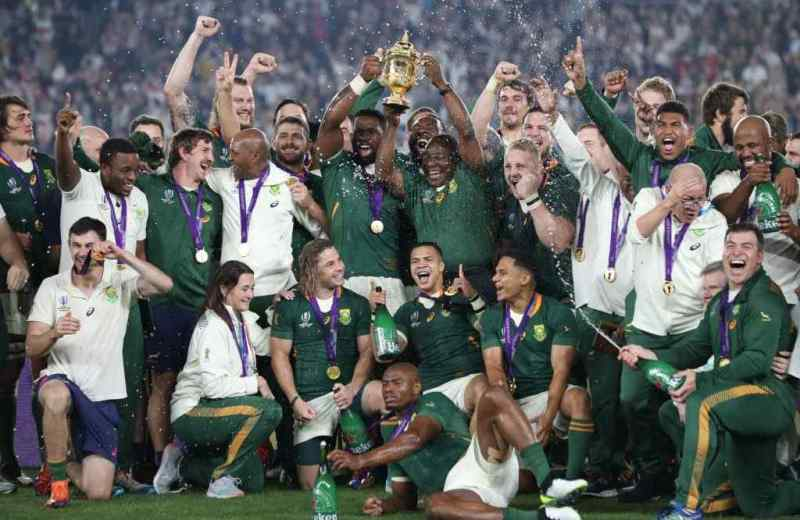South Africa defeat England to win Rugby World Cup