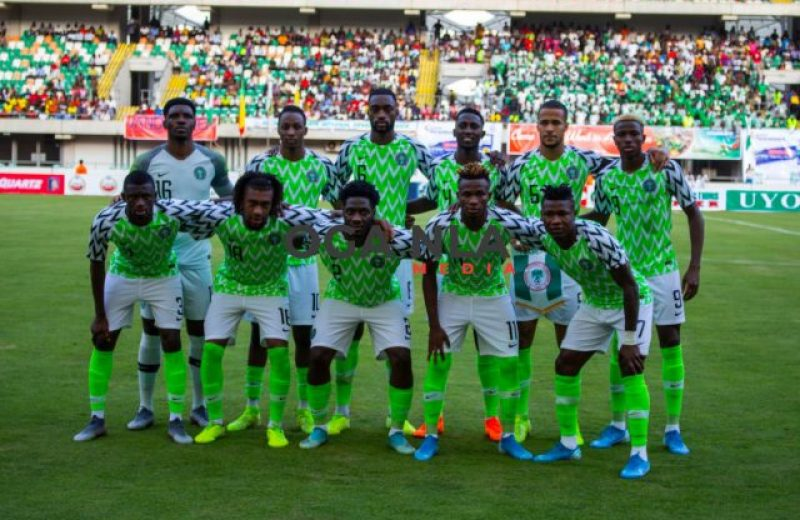 FIFA/Coca-Cola World Ranking: Nigeria moves two places