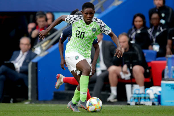 "Super Falcon Chidinma Okeke reflects on ""amazing 2019"""